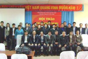 """Hội thảo """"Chế độ tưới và quản lý thủy nông có sự tham gia đối phó với hạn hán"""" 01-02-2010"""