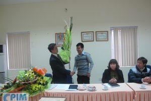 Lễ công bố Quyết định bổ nhiệm tân phó giám đốc Trung tâm tư vấn PIM, Viện Khoa học thủy lợi Việt Nam