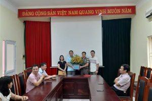 Lễ công bố quyết định Bổ nhiệm Trưởng Phòng Hợp tác và Phát triển Tổ chức Dùng nước